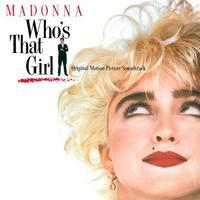 MADONNA / OST - WHO'S THAT GIRL / CRYSTAL CLEAR VINYL
