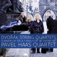 "DVOŘÁK / PAVEL HAAS QUARTET - STRING QUARTETS G MAJOR OP. 106 & F MAJOR OP. 96 ""AMERICAN"""