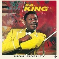 KING B.B. - BLUES IN MY HEART / WAX TIME