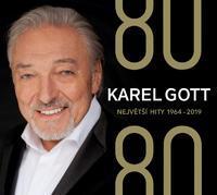 CD GOTT KAREL - 80/80 NEJVĚTŠÍ HITY 1964-2019