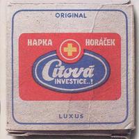 HAPKA & HORÁČEK - CITOVÁ INVESTICE..?
