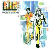 AIR - MOON SAFARI / PHOSPORESCENT VINYL
