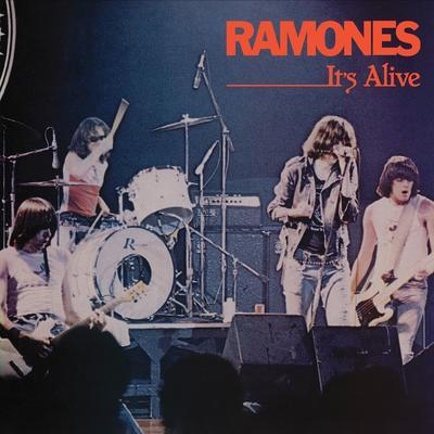 RAMONES - IT'S ALIVE / RED & BLUE VINYL